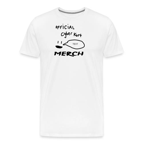 smiley speech design - Men's Premium T-Shirt