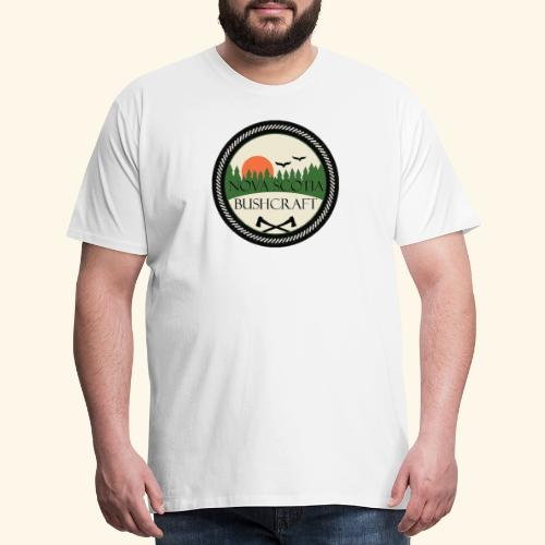 Nova Scotia Bushcraft - Men's Premium T-Shirt