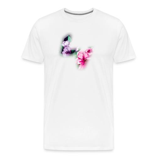 Floral Logo - Men's Premium T-Shirt