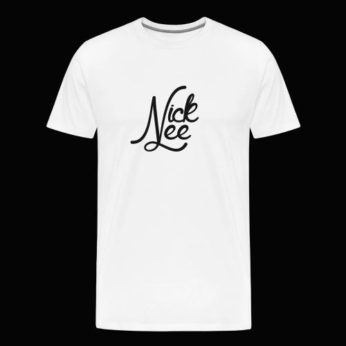 Nick Lee Logo - Men's Premium T-Shirt