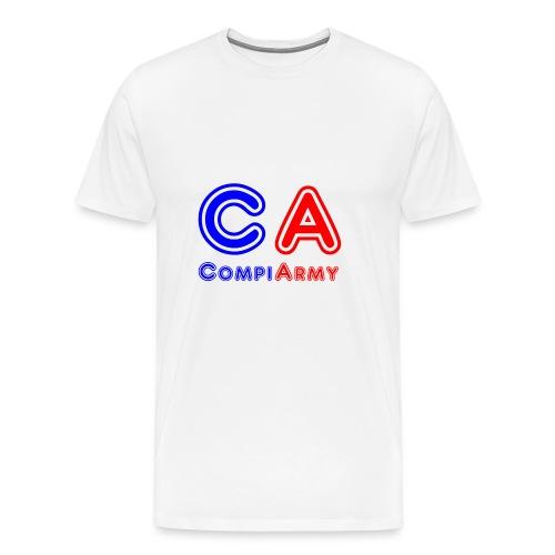 CompiArmy Design | bit.ly/compiarmyyt - Men's Premium T-Shirt