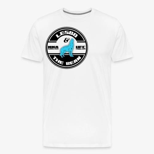 Lesbo and The Bean Logo - Men's Premium T-Shirt