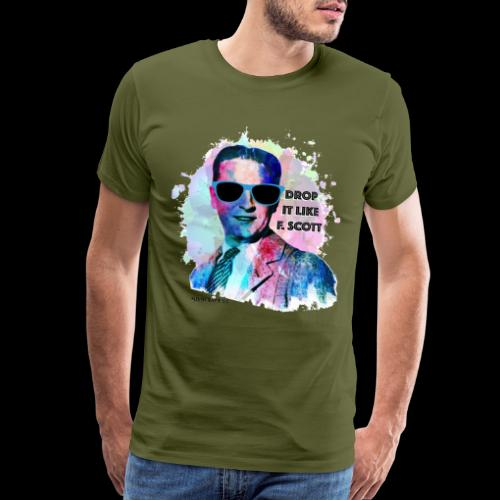 Drop it Like F. Scott | Write Music - Men's Premium T-Shirt