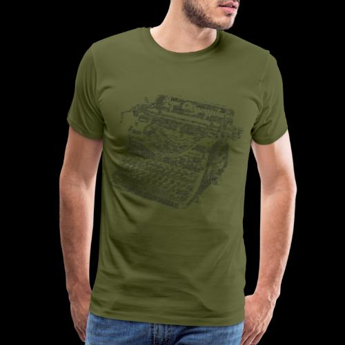 Typewritten Logophile - Men's Premium T-Shirt