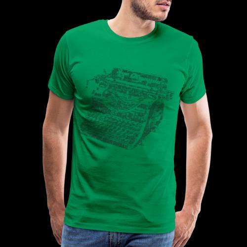 Typewritten Logophile - Men's Premium T-Shirt