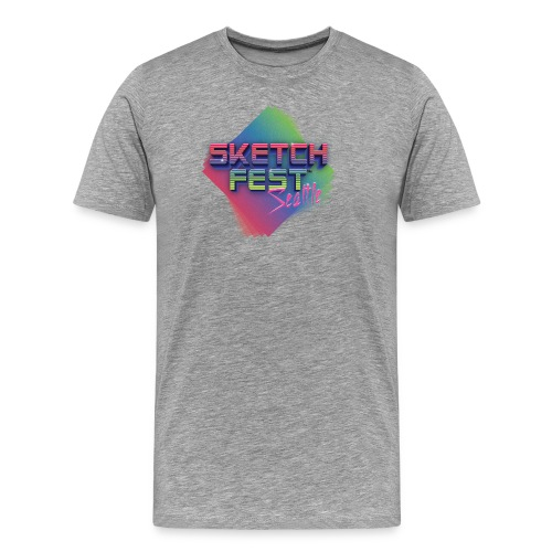 SketchFest2016 Tshirt 2500x2500 png - Men's Premium T-Shirt