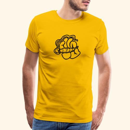 SMOKING HAND - HOODIE / SHIRT - Men's Premium T-Shirt