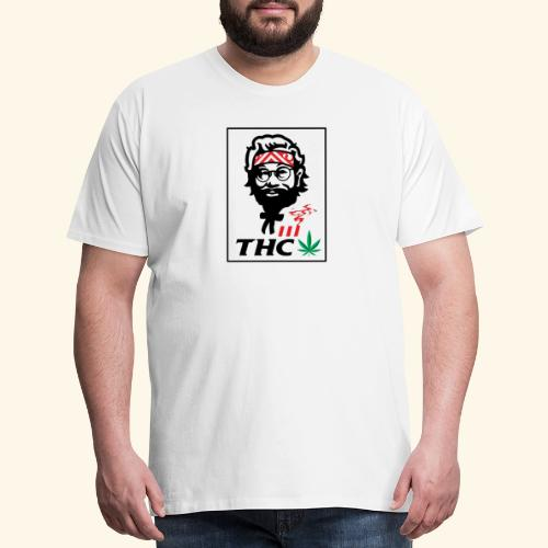 THC MEN - THC SHIRT - FUNNY - Men's Premium T-Shirt