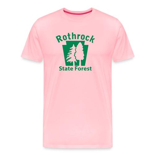 Rothrock State Forest Keystone (w/trees) - Men's Premium T-Shirt