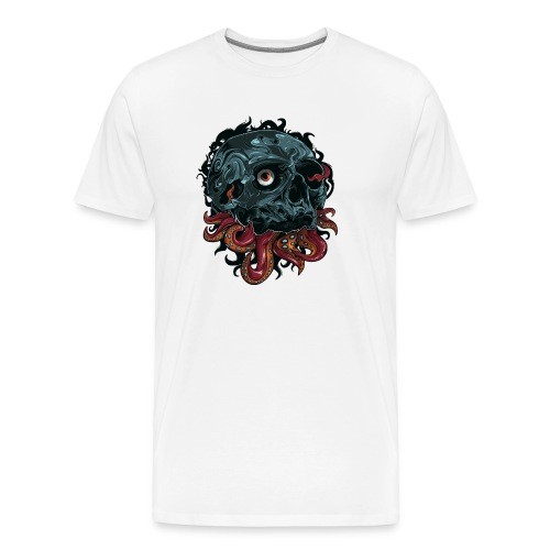 TentaSkull - Men's Premium T-Shirt