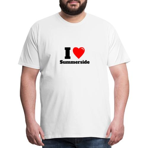 I love Summerside - Men's Premium T-Shirt