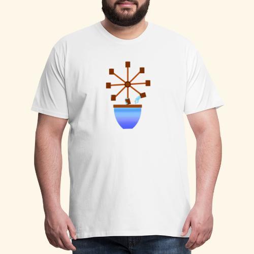 watering cycle - Men's Premium T-Shirt