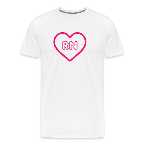 RN Nurse Quote, Gift - Men's Premium T-Shirt