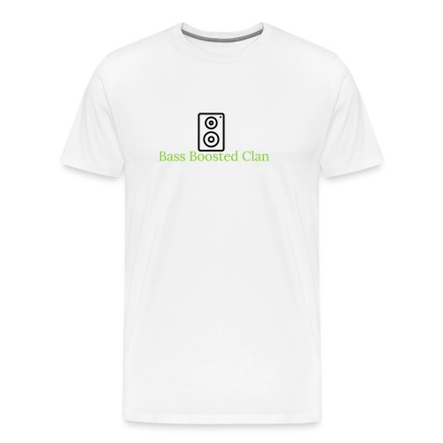 Bass Boosted Clan Brand - Men's Premium T-Shirt