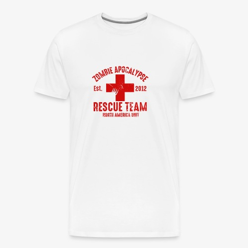 Zombie Help Team - Men's Premium T-Shirt