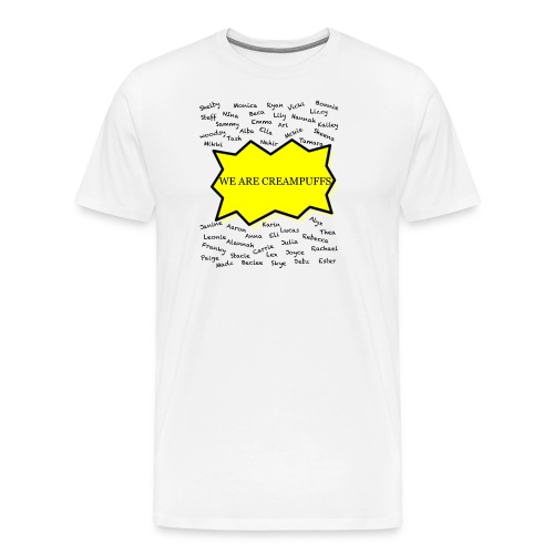 Creampuff Awareness - Men's Premium T-Shirt