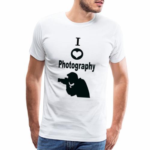 I Love Photography - Men's Premium T-Shirt