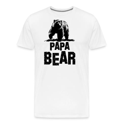 Papa Bear Gift Shirts - Men's Premium T-Shirt