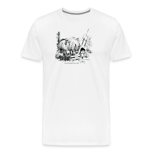 PonyFail Thelwell Cartoon - Men's Premium T-Shirt