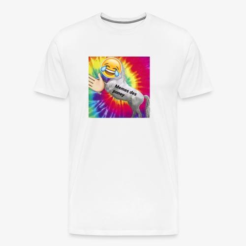 LOGO MEMES DES PONEYS - Men's Premium T-Shirt
