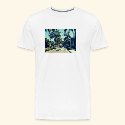 Blue Skies Beverley Hills Edition - Men's Premium T-Shirt