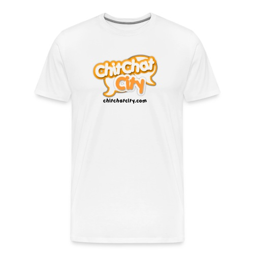 large logo ccc - Men's Premium T-Shirt