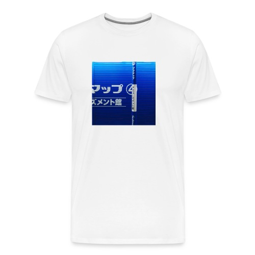 Blue Wave - Men's Premium T-Shirt