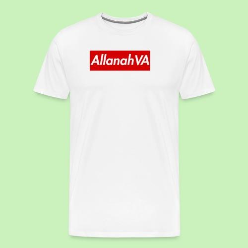 AllanahVA Supreme Red - Men's Premium T-Shirt