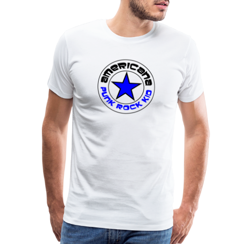 Americana Punk Rock Kid - Men's Premium T-Shirt