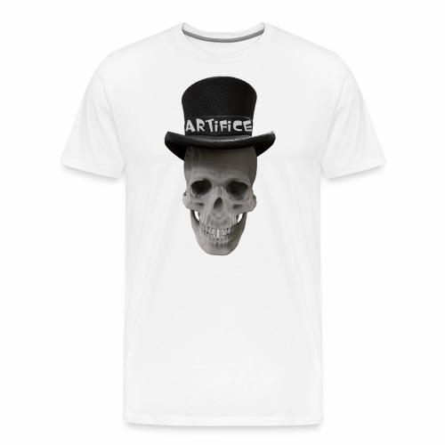 Artifice Skull Head - Men's Premium T-Shirt