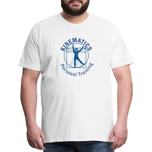 Logo with circle name - Men's Premium T-Shirt