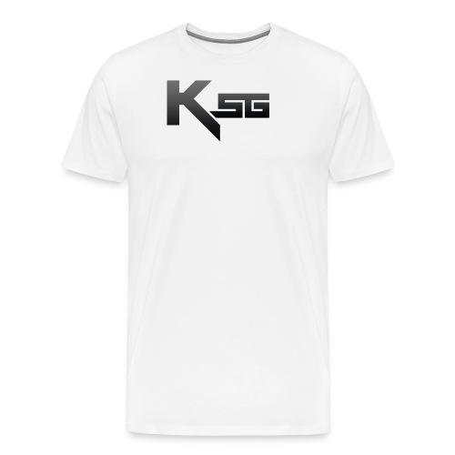 Black KSG png - Men's Premium T-Shirt