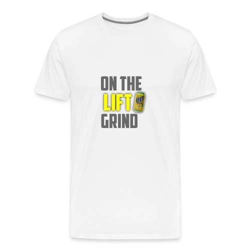 On The Lift Grind ItsMeOw - Men's Premium T-Shirt