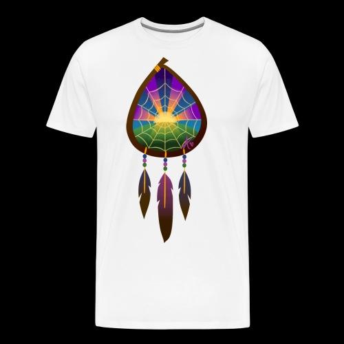Dreamcatcher Sunset Inspiring 2 - Men's Premium T-Shirt