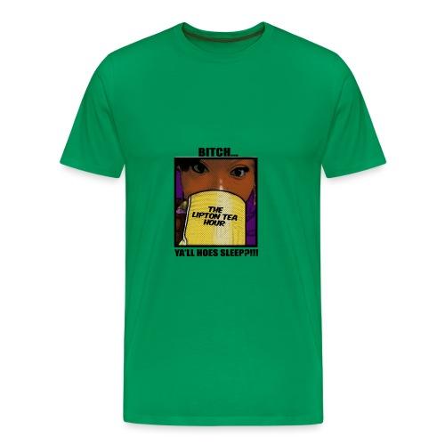 yall sleep - Men's Premium T-Shirt