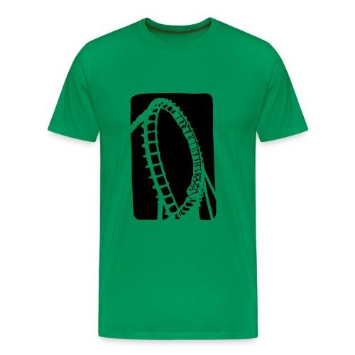 Roller Coaster - Men's Premium T-Shirt