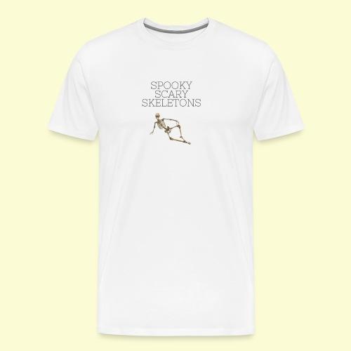 Spooky Scary Skeletons (2) - Men's Premium T-Shirt