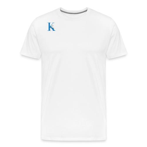 Initial Rose - Men's Premium T-Shirt