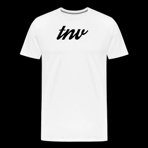 TNV BLACK copy png - Men's Premium T-Shirt