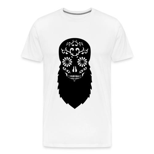 Bearded skull - Men's Premium T-Shirt