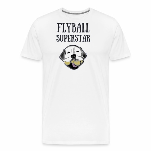 Flyball Superstar - Men's Premium T-Shirt