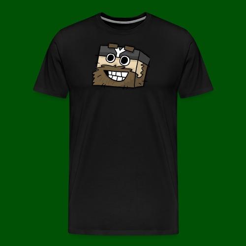 cavemanhead - Men's Premium T-Shirt