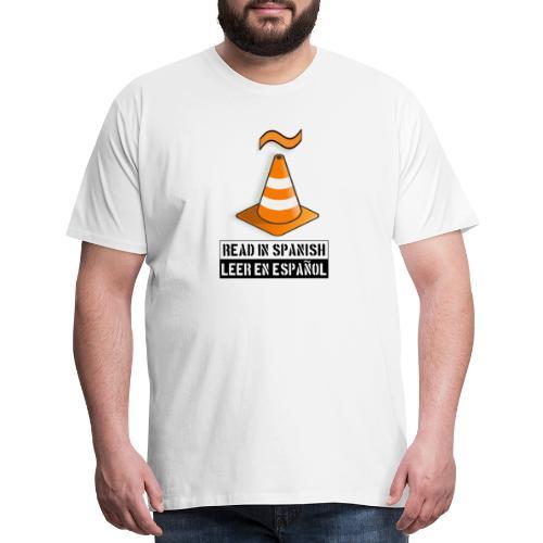 Read in Spanish - Men's Premium T-Shirt