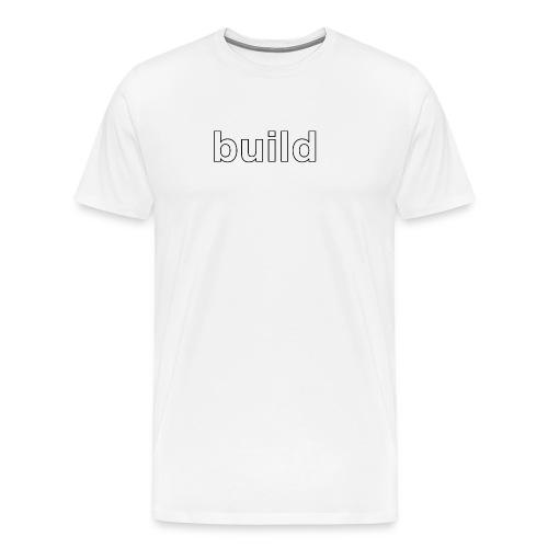 build logo - Men's Premium T-Shirt