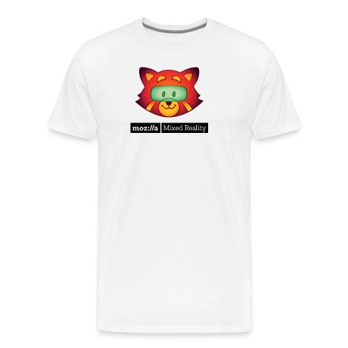 Foxr Head (black MR logo) - Men's Premium T-Shirt