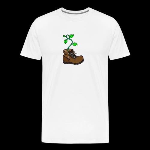 Plant In Boot - Men's Premium T-Shirt