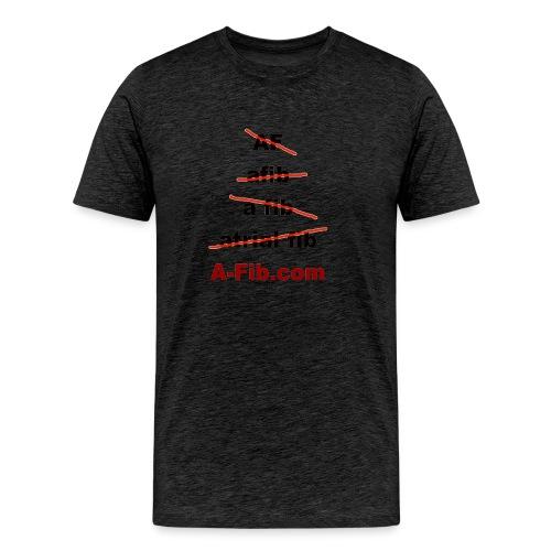 afib spelling - Men's Premium T-Shirt