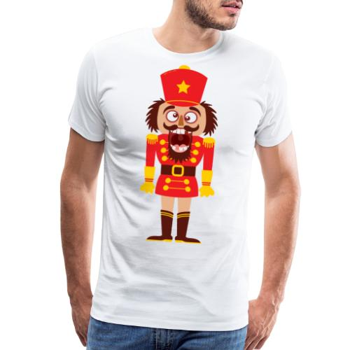 A Christmas nutcracker is a tooth cracker - Men's Premium T-Shirt