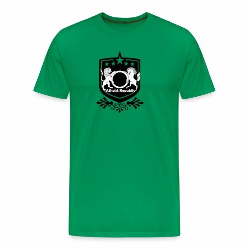 Atheist Republic Logo - Starred Badge - Men's Premium T-Shirt