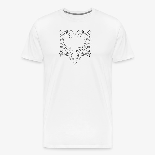 Albanian Eagle - Men's Premium T-Shirt